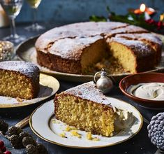 In the final part of our unmissable series, Prue Leith reveals some of the special family recipes her loved ones enjoy at Christmas, including a late night pasta feast, pictured. Lemon Polenta Cake, Polenta Cakes, Easy Pastry Recipes, Baking Recipes, Prue Leith, British Baking, Great British Bake Off, Food Articles, Almond Cakes