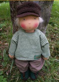 what a cutie boy waldorf doll