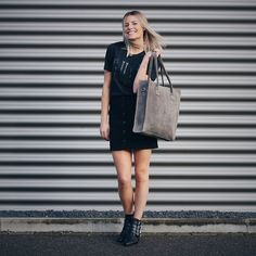 YAY! New bag! #gutsgusto #girlsbehindguts #fashion #bag #leather #webshop #model #style #outfit #streetstyle #leatherbag #summer #spring #photography #ootd