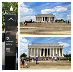 Traveling  KATE: Lincoln Memorial