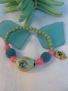SALE BOMBAY PRINCESS Bracelet Bollywood Bracelet Gypsy by Nezihe1, $20.99
