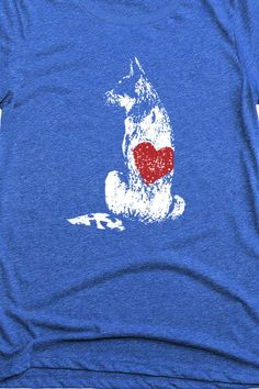 Super cute cattle dog apparel. I love the slouchy tank option in grey. Reminds me of my blue heeler. The blue tshirt with the white and red is perfect for 4th of July!