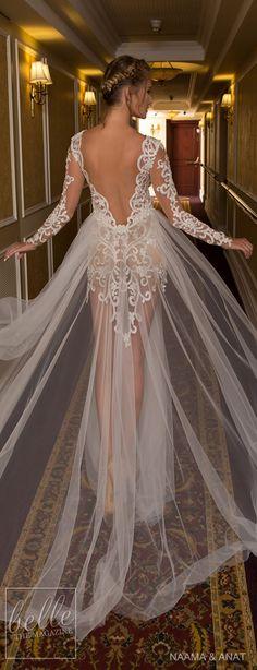 "Naama & Anat 2018 Wedding Dresses - ""Starlight"" Bridal Collection"