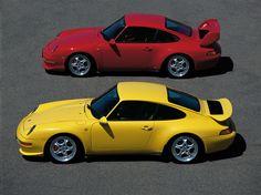 Porsche 911 (993) Carrera 1995 | Porsche 911 Carrera RS Club Sport & Carrera RS 3.8 (993) '1995