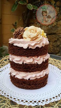 Mi Repostería Creativa: Layer Cake Chocolate y Fresas del Bosque