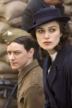 Atonement, 2007  James McAvoy and Keira Knightley