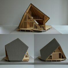 Y Hütte by Kengo Kuma wood architecture