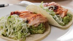 Ina's Roasted Salmon Tacos | Food Network