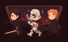 Star Wars: The Force Awakens Created by Ameorry Luo || Tumblr