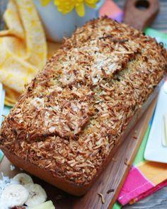 Bananna Nut Bread, Banana Bread Muffins, Coconut Recipes, Banana Bread Recipes, Pie Recipes, Bread Cake, Dessert Bread, Hummingbird Bread Recipe, Baking Flour