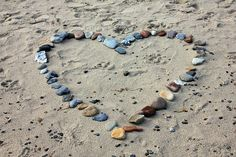 Free Photo: Beach, Sand, Stones, Heart, Love - Free Image on Pixabay - 193786 Get Pregnant Fast, Getting Pregnant, Falling In Love Quotes, Long Distance Love, How He Loves Us, Stone Heart, Circle Of Life, Love Signs, Love Is Free