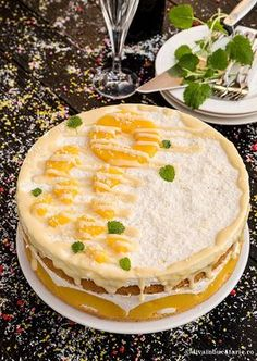 TORT DELICIU CU ANANAS | Diva in bucatarie Christmas Sweets, Christmas Recipes, Cheesecakes, Vanilla Cake, Camembert Cheese, Delicious Desserts, Food And Drink, Cheesecake, Cherry Cheesecake Shooters