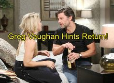 """""""Days of Our Lives"""" spoilers for Friday, April tease that Victor (John Aniston) will reflect on some dark memories. DOOL fans know that Victor's fiancée, John Aniston, Nbc Series, Greg Vaughan, Soap News, Soap Opera Stars, Casting Pics, Days Of Our Lives, New Opportunities, Beauty"""
