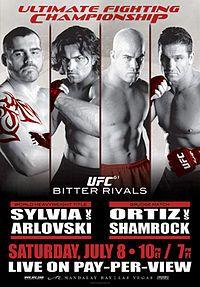 UFC 61: Bitter Rivals.