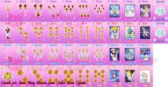 Baraja rosa de #SailorMoonSpain