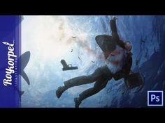 Cover Blown - Sharks will do the rest | Photoshop CS6 Time Lapse video -...