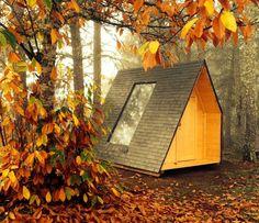 Échale un vistazo a este increíble alojamiento de Airbnb: Micro cabana rotativa - Chozas en alquiler en Gondesende