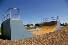 skatepark Skate Park, Abs, Skyline, Exterior, Urban, Skateboarding, Centre, Image, Sports