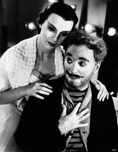 "Charles Chaplin, Claire Bloom in ""Limelight"" (1952). Director: Charles Chaplin."