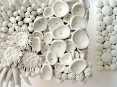 Unique Sea Life Sculpture by DillyPad. I was thinking white sugar sea shells for a wedding cake could be amazing for sea side wedding celebration