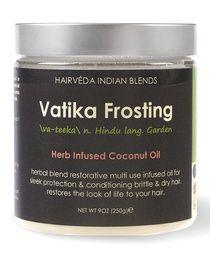 Vatika Frosting...provides natural nourishment to your hair!