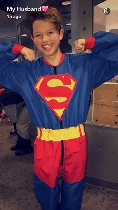 My superhero. More