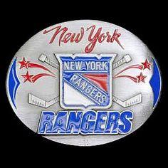 New York Rangers® Team Belt Buckle