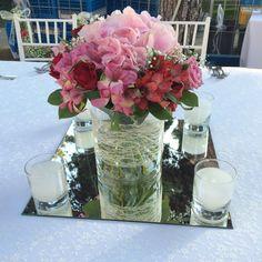 Ανθοστολισμός γάμου Λίμνη Βουλιαγμένης  #lesfleuristes #ανθοπωλειο #γαμος #νυφη #διακοσμηση #λουλουδια #δεξιωση Glass Vase, Wedding, Home Decor, Valentines Day Weddings, Mariage, Weddings, Interior Design, Marriage, Home Interior Design