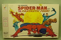 Vintage Spiderman Board Game Milton Bradley 1977 | eBay