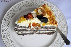 Mniam: Tort makowy z kremem waniliowym i nutą pomarańczy Tiramisu, Cake, Ethnic Recipes, Kuchen, Tiramisu Cake, Torte, Cookies, Cheeseburger Paradise Pie, Tart