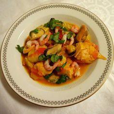 Edel's Mat & Vin : Bouillabaisse ✿ Fransk fiskesuppe tilberedt i stek...