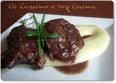 Carrillada Ibérica en salsa de vino tinto Pork, Beef, Cooking, Healthy, Recipes, Ideas Para, Foodies, Spain, Beef Cheeks