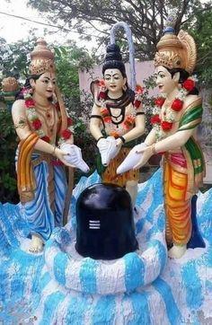 Shri Ganesh, Hanuman, Durga, Krishna, Lord Shiva Statue, Lord Shiva Pics, Indian Gods, Indian Art, Beautiful Monday