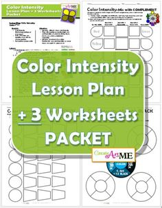 Grief Worksheet Pdf Art Techniques Lesson Plans And Worksheets For Art Classrooms  Mixed Number Division Worksheet with Pearson Success Net Worksheets Pdf Color Intensity Lesson Plan   Worksheets Packet Molar Mass And Percent Composition Worksheet Excel