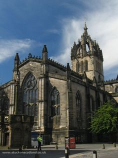 St. Giles Cathedral - Edinburgh, Scotland. Love. Must go back.