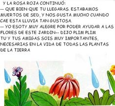 Álbumes web de Picasa Gota, Album, Color Azul, January, Paper, Bow Braid, Poems For Children, Water Cycle, Preschool Learning