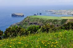 somewhere along the northwestern coast of Sao Miguel Azores, Portugal  by Gail Edwin Aguiar