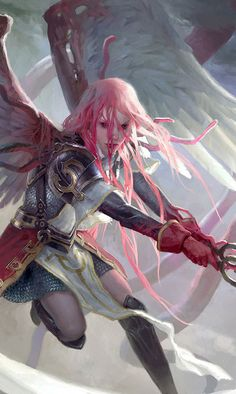 Gisela, the Broken Blade - MTG by ClintCearley on DeviantArt (detail)
