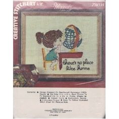 There Is No Place Like Home Creative Stitchery Kit  by Vogart Crafts Corp.