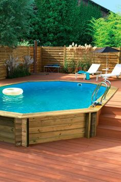 45 Best Large Above Ground Pools Images On Pinterest