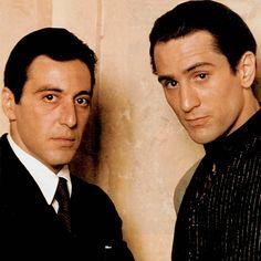 Al Pacino & Robert De Niro, The Godather Part 2 (1974)