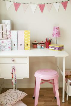 Young Girl's Workspace