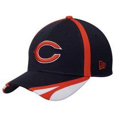 Men's New York Giants New Era Royal/Red Fan Training Camp Reverse 39THIRTY Flex Hat