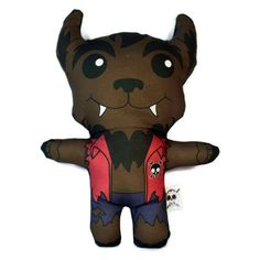 Wolfie Plush Doll by StudioLongoria on Etsy, $19.99