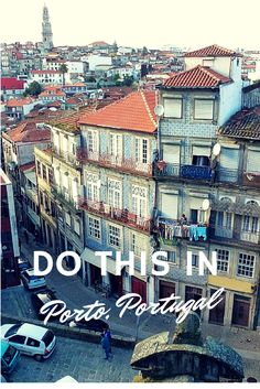 Porto Portugal - Hop On Hop Off In The Rain!