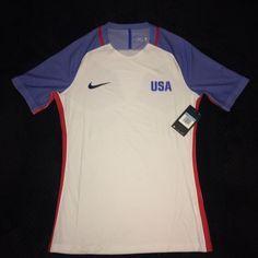 Men s Nike Aeroswift US Soccer White 2016 Olympics Home Jersey 729686-100  Size M 5033b7aa4