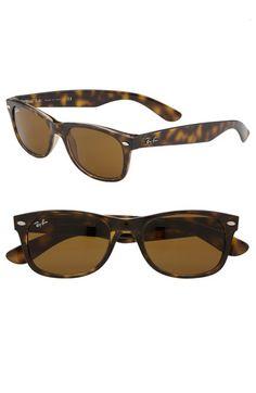 Ray-Ban 'New Small Wayfarer' Sunglasses (Nordstrom Exclusive Colors) Sunglasses 2016, Ray Ban Sunglasses Sale, Cheap Sunglasses, Wayfarer Sunglasses, Sunglasses Online, Sunglasses Women, Sunglasses Outlet, Sports Sunglasses, Polarized Sunglasses