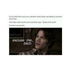 hahaha poor Sam