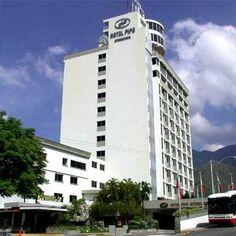 exterior of Hotel Pipo Internacional Venezuela