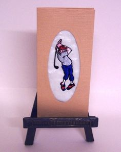Cards - The Golfer £1.50